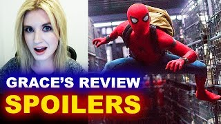 Spider-Man Homecoming SPOILERS Movie Review