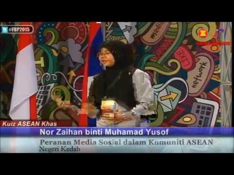 Kuiz Asean Khas 2015 - Nor Zaihan binti Muhamad Yusof