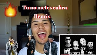 Tu no metes cabra Remix - bad bunny ft daddy yankee, anuelAA, Cosculluela  (VideoReaccion)
