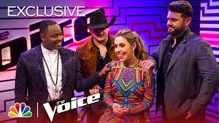 Download Lagu The Voice 2018 - After the Elimination: Jackie Foster, Kaleb Lee, Pryor Baird and Rayshun LaMarr Gratis STAFABAND