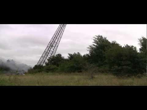 Oldbury meteorological tower demolition
