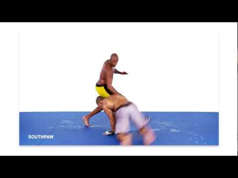 Anderson Silva: Takedown Defense (Single Leg Counters) Image 1
