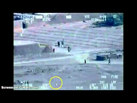 DoD Leaked Video: Drone Spots Enemy Planting IED,Doesn't Tell US Convoy Approaching,Soldiers Killed