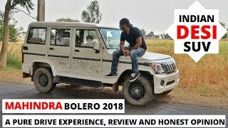Mahindra Bolero 2018 Review, Drive Experience, Honest Opinion. DESI SUV