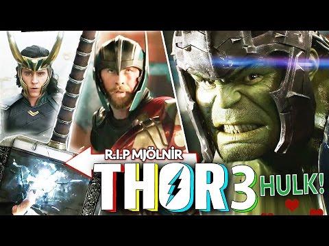 THOR 3: RAGNAROK ?lk Fragman! Hulk vs Thor!