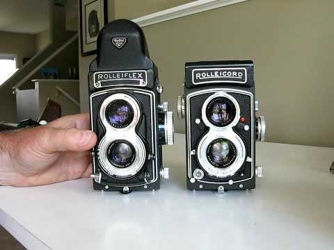 Rolleicord and Rolleiflex cameras in the digital camera world