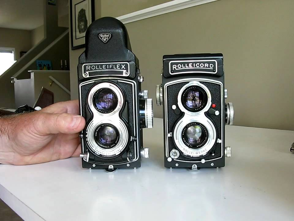 Rolleicord and rolleiflex cameras in the digital camera for Camera camera camera