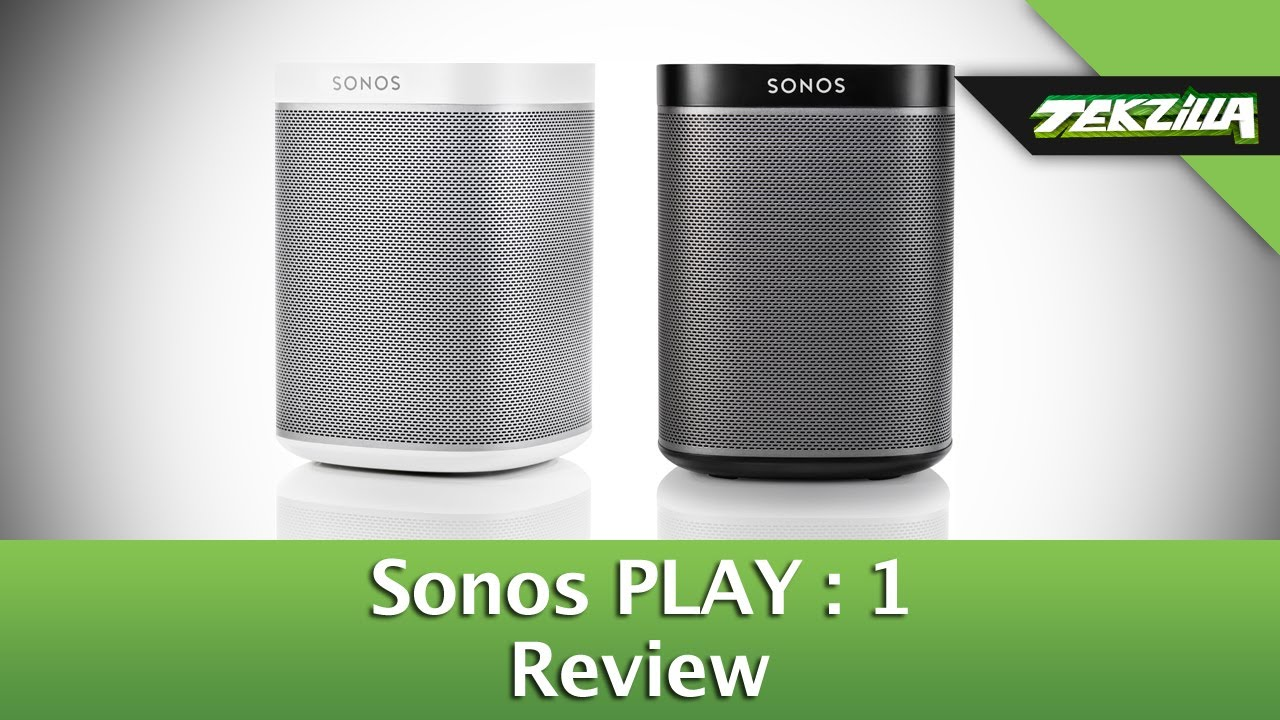 sonos play 1 review youtube