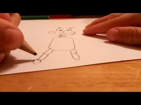 Hogyan rajzol Ákos Freddy-t