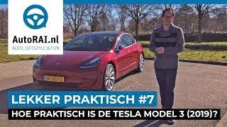 De nieuwe Tesla Model 3 (2019) - Lekker Praktisch #7 - AutoRAI TV