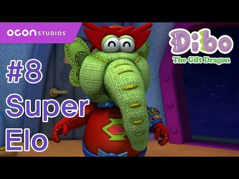 Gift Dragon Dibo    Ep08 Super Elo (eng dub) video