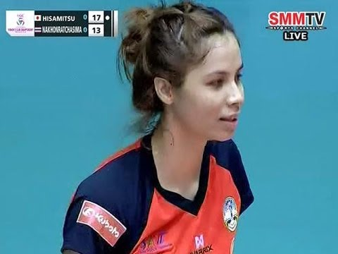 HisamitsuSpring(JPN) - Nakhonratchasima(THA) Asian Women's Club Volleyball Championship2014