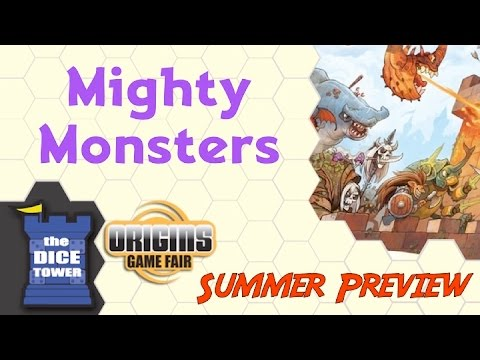 Origins Summer Preview: Mighty Monsters