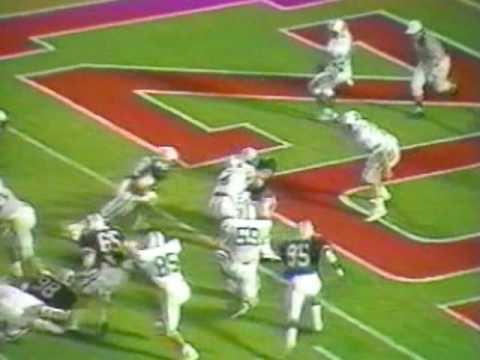 Arizona Wildcats Football 1987-1993 Video