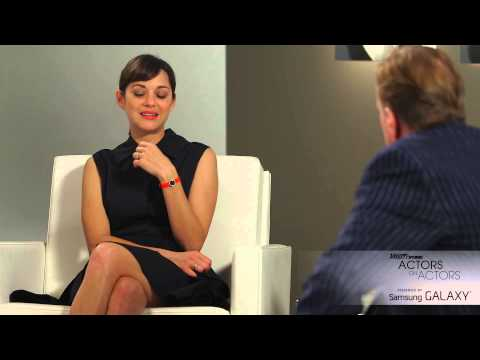 Marion Cotillard &Timothy Spall at the Variety Studio: Actors on Actors presented by Samsung Galaxy