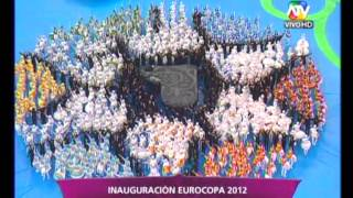 Inauguracin Euro 2012