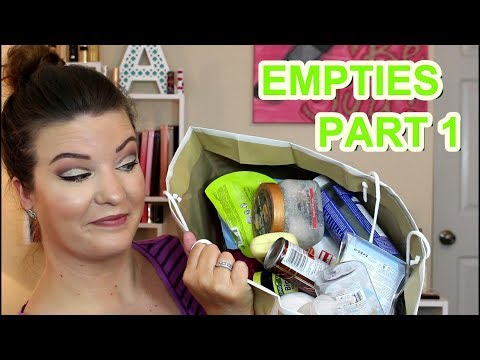EMPTIES PART 1   Products I've used up. reviews & would I repurchase?   wannamakeup