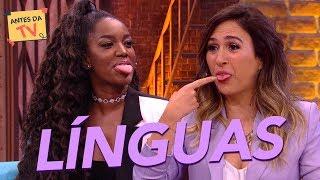 Com inglês em dia! IZA e Tatá mostram habilidade com a língua | Lady Night | Humor Multishow