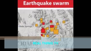 OVER 80 EARTHQUAKES SHAKE EAST IDAHO IN LESS THAN 48 hours