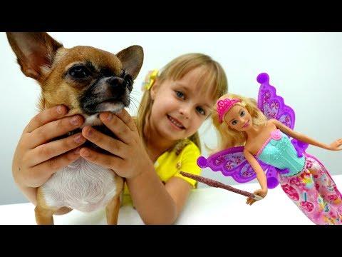 Видео для девочек - игрушка Чичилав ожила