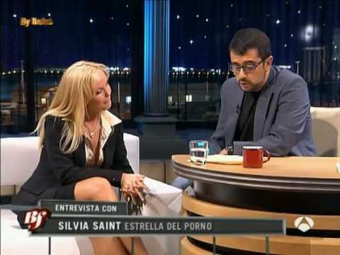 Silvia Saint Entrevista en Buenafuente - A3 - (4-10-2006) parte 2de2. Video