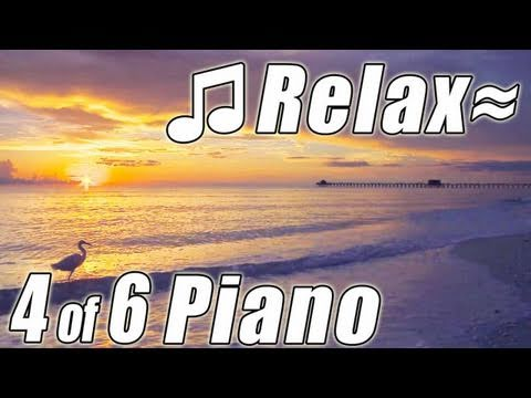 RELAXING PIANO #4 Romantic Music Ocean Instrumental Classical Songs Relax Slow jazz HD video 1080p
