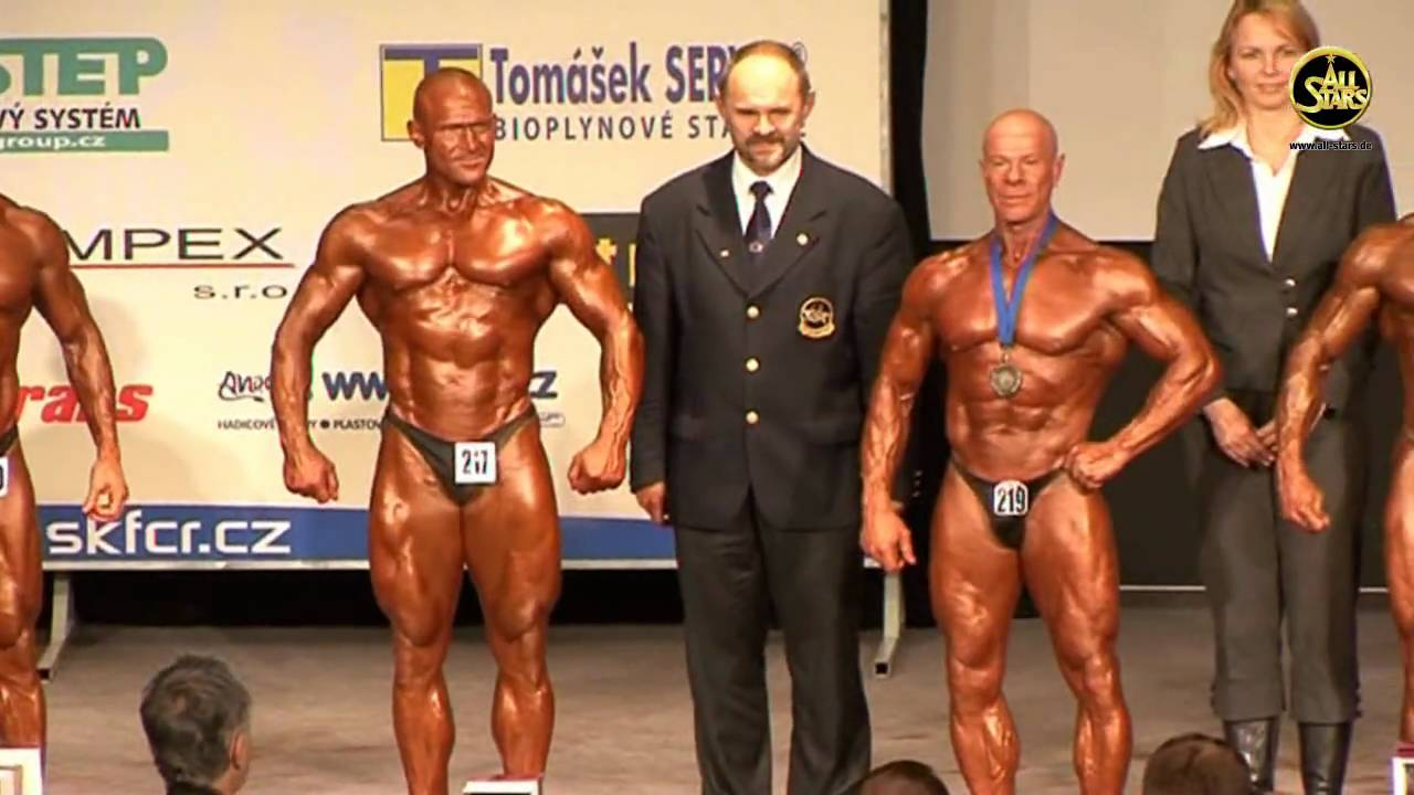 Master Men`s Bodybuilding, 50-59 year, -80 kg, Winner