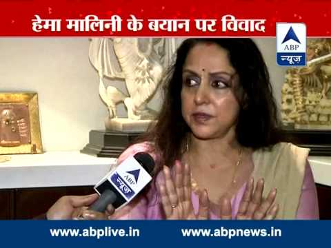 Interview: Hema Malini clarifies her controversial 'Vrindavan widows' remark
