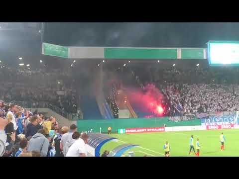 Ausschreitungen Hansa Rostock - Hertha BSC [14.08.2017]