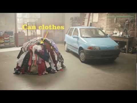 Can you fuel a car with clothes? Morrisons Fuel Saver Challenge: part 1