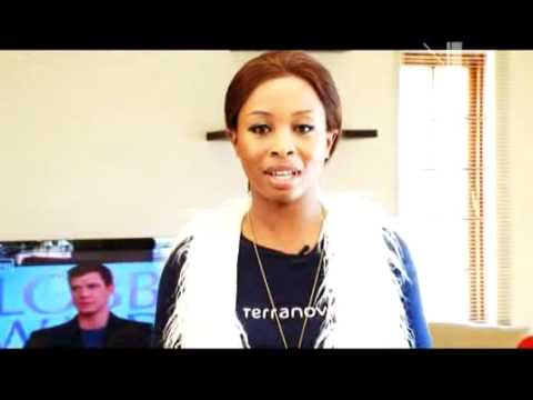 Vuzu.tv: V Entertainment - Khanyi Mbau Audition video