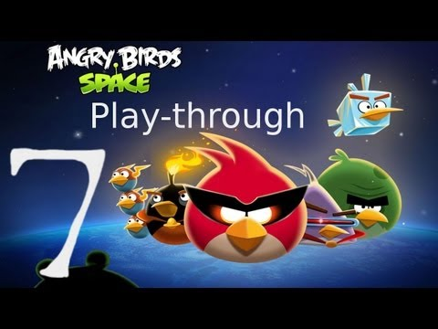 Let's Play Angry Birds Space 07 - The Suspiciously Curious Case of the Untidy Waffle Wafer