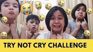 TRY NOT TO CRY CHALLENGE | Haizelnot | Philippines