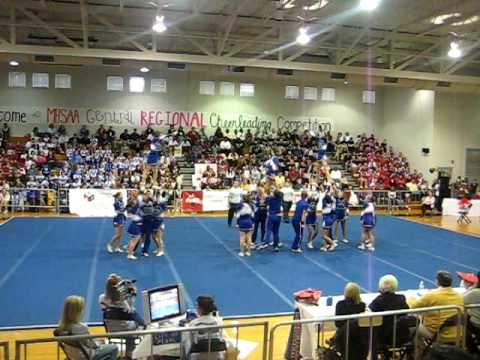 vancleave high school 08-09 regionals comp champs!