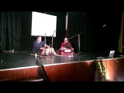 Rabindra Sangeet by visiting artist - Rabindra Jayanti 2011