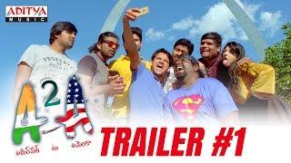 A2A (Ameerpet 2 America) Trailer #1 | A2A Telugu Movie | Rammohan Komanduri | Karthik Kodakandla