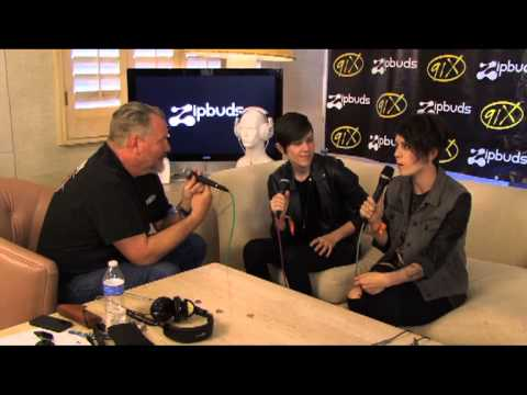 Tegan and Sara talk about having babies @ Coachella 2013