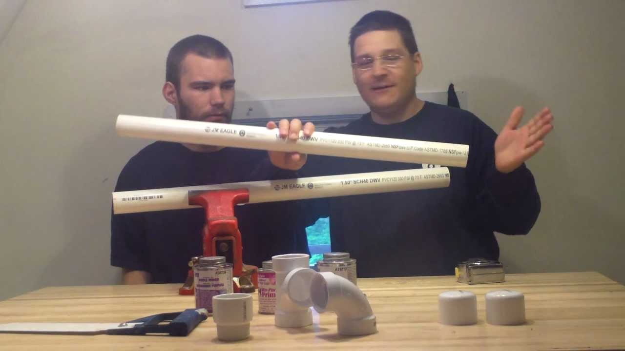 Tutorial How To Measure Amp Cut Pvc Plumbing Pipe Youtube