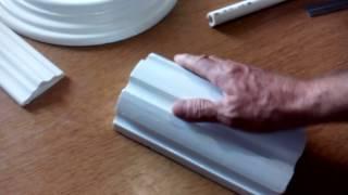 Como elaborar una tarraja para una columna estriada, a escala....