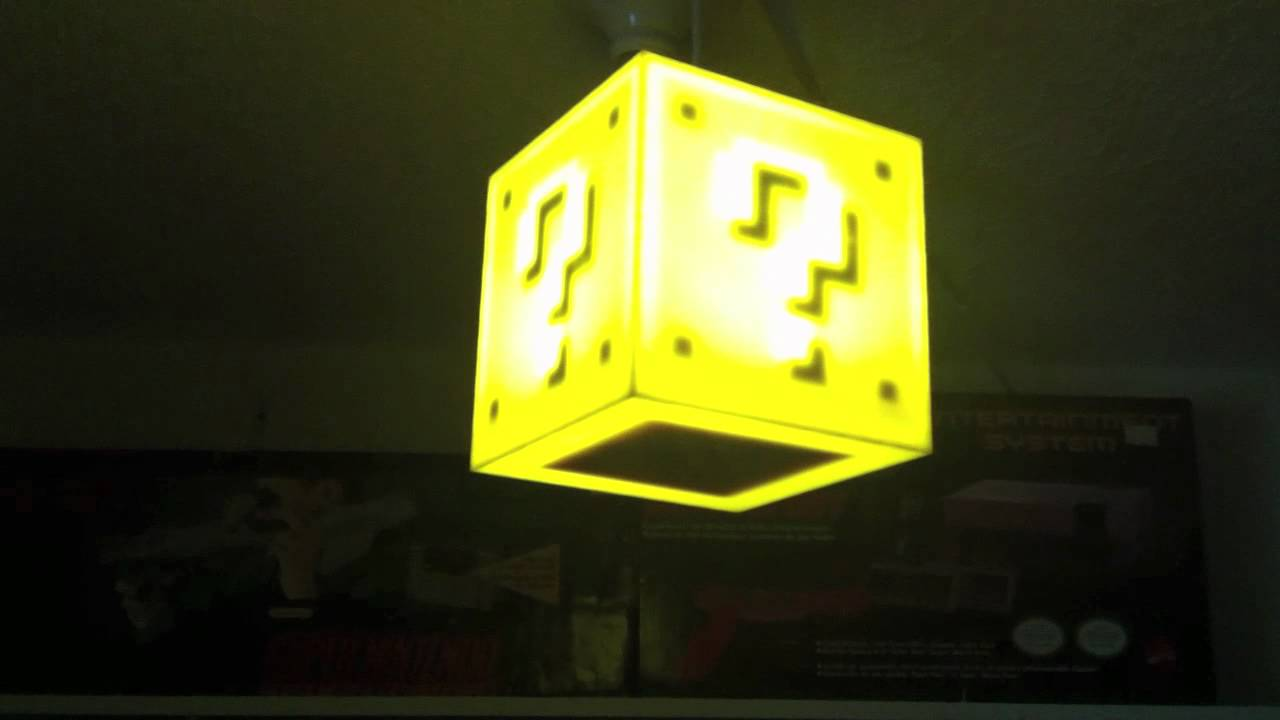 Super Mario Cube Light By 8bit Lit Youtube