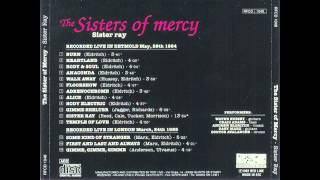 Watch Sisters Of Mercy Sister Ray video