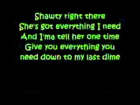 Justin Bieber - One time (lyrics)