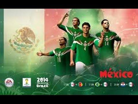 FIFA 14 WORLD CUP MEXICO {FASE DE GRUPOS VS BRASIL}GOLAZO DE HERRERA+VICTORIA