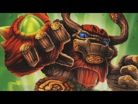 Classic Game Room - SKYLANDERS TREE REX figure review