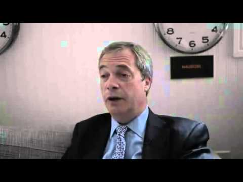 Nigel Farage Talks About The World We Live In Today