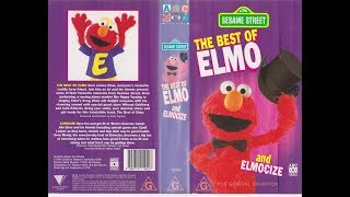 Sesame Street Home Video The Best Of Elmo And Elmocize