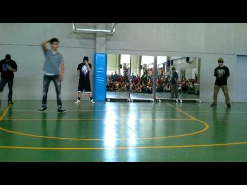 Performance In San Valero * Jumpstyle Electrodance Breakdance Shuffle * video