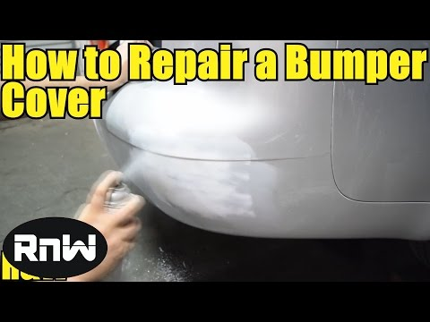 how to paint and install a plastic bumper cover spray paint how to. Black Bedroom Furniture Sets. Home Design Ideas
