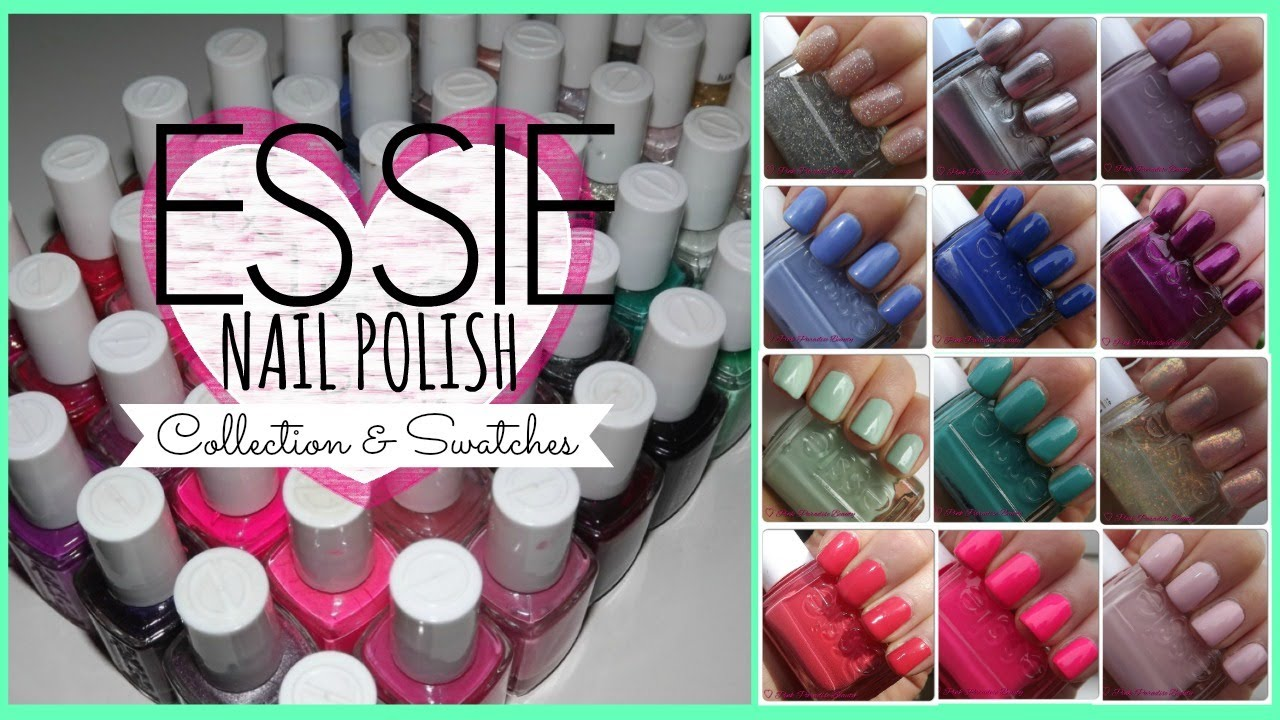 Nail Polish Collection Youtube Essie Nail Polish Collection