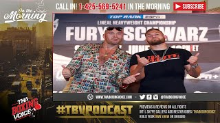 ☎️Tyson Fury's Trainer Says Schwarz Was Selected With Wilder in Mind❓😂